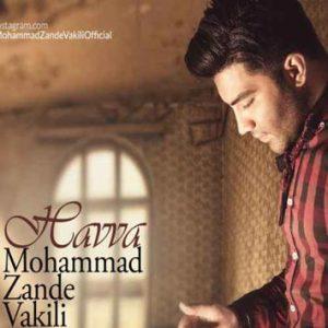 دانلود آهنگ حوا از محمد زند وکیلی با لینک مستقیم