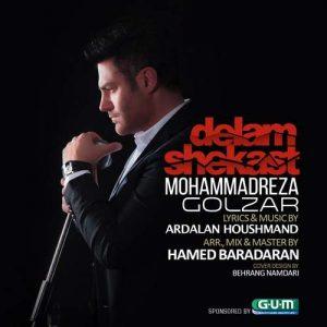دانلود آهنگ جدید محمدرضا گلزار به نام دلم شکست