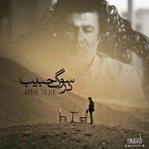دانلود آهنگ در سوگ حبیب از امیر تاجیک با لینک مستقیم