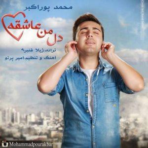 دانلود آهنگ جدید محمد پوراکبر به نام دل من عاشقه